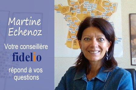 Martine echenoz votre conseillère fidelio